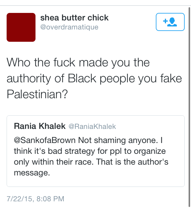 I know, right? Who ever gave you the right to have opinions, Rania?